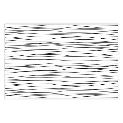 Vinyl Teppich MATTEO 60x90 cm Lines