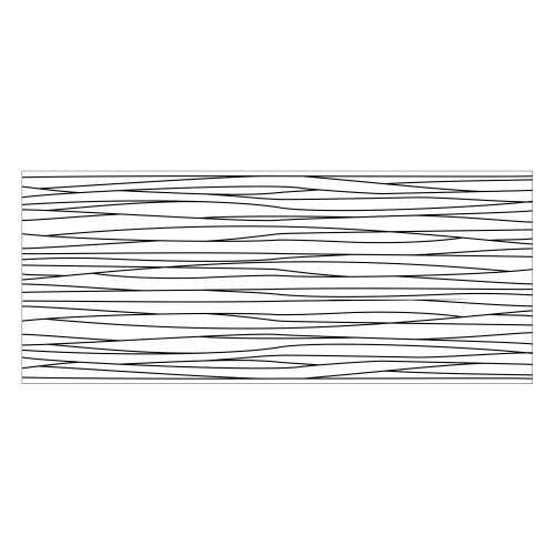 Vinyl Teppich MATTEO 50x120 cm Lines