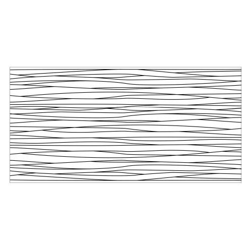 Vinyl Teppich MATTEO 70x140 cm Lines