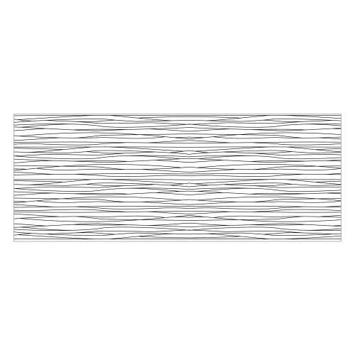 Vinyl Teppich MATTEO 70x180 cm Lines