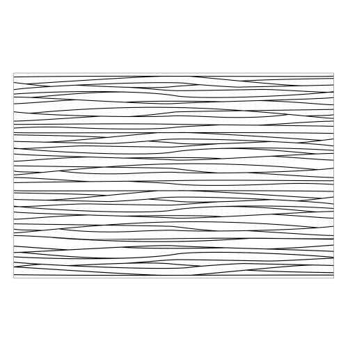 Vinyl Teppich MATTEO 90x135 cm Lines