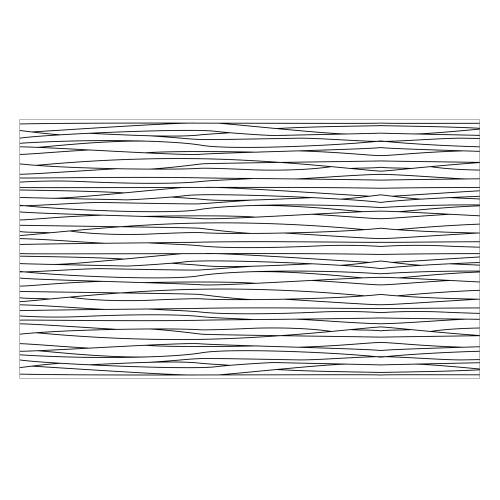 Vinyl Teppich MATTEO 90x160 cm Lines