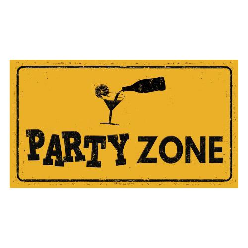 Vinyl Teppich MATTEO 90x160 cm Party Zone