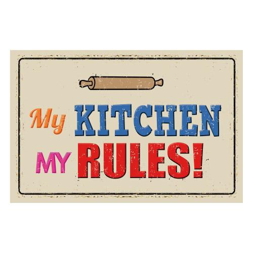 Vinyl Teppich MATTEO 118x180 cm My Kitchen