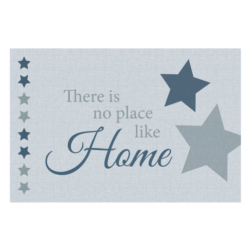 Vinyl Teppich MATTEO 40x60 cm No Place Like Home