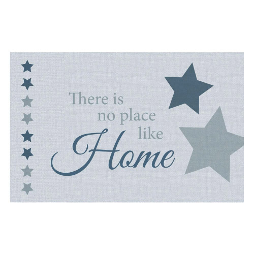 Vinyl Teppich MATTEO 90x135 cm No Place Like Home