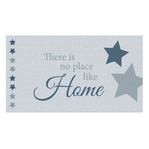 Vinyl Teppich MATTEO 90x160 cm No Place Like Home