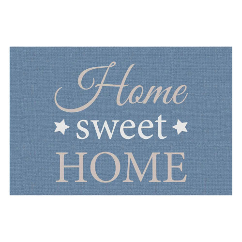 Vinyl Teppich MATTEO 40x60 cm Home Sweet Home