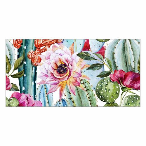 Vinyl Teppich MATTEO 70x140 cm Exotic Cactus