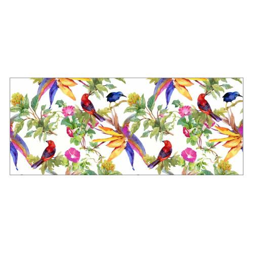 Vinyl Teppich MATTEO 50x120 cm Exotic Parrots