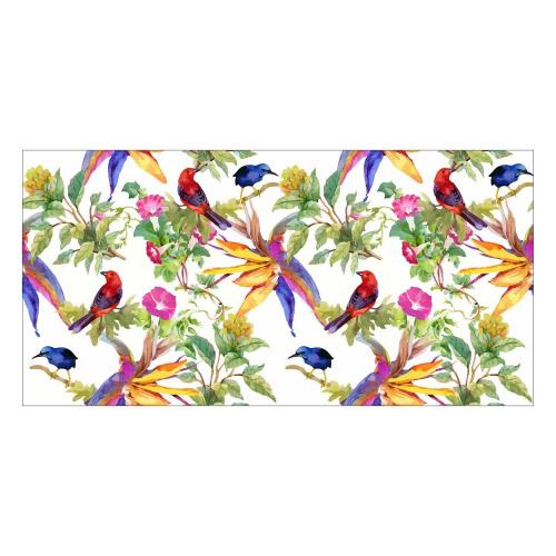 Vinyl Teppich MATTEO 70x140 cm Exotic Parrots
