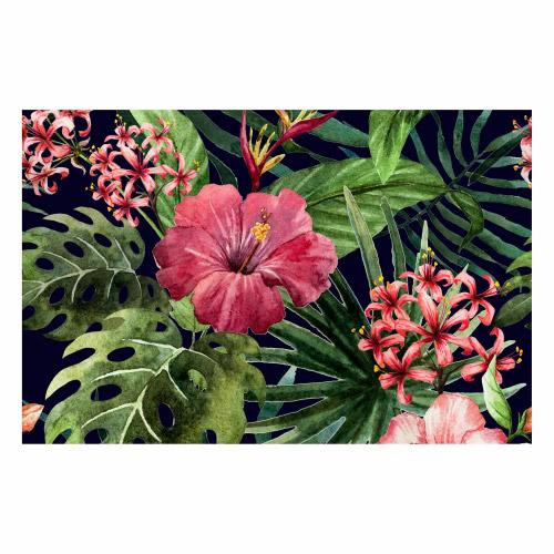 Vinyl Teppich MATTEO 118x180 cm Exotic Flower