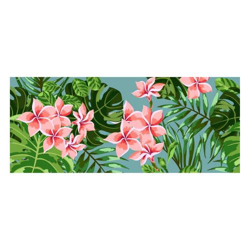 Vinyl Teppich MATTEO 50x120 cm Farns & Blossom