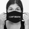 Lamask Mund-Nasen-Bedeckung I CAN´T BREATHE