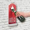 Wand-Flaschenöffner BEER
