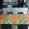 Tischset Vinyl Ananas