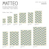 Vinyl Teppich MATTEO 118x180 cm Fliesen 3 Bunt