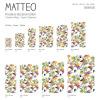 Vinyl Teppich MATTEO 40x60 cm Exotic Parrots