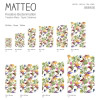 Vinyl Teppich MATTEO 90x160 cm Exotic Parrots