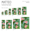 Vinyl Teppich MATTEO 70x140 cm Farns & Blossom