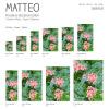 Vinyl Teppich MATTEO 90x160 cm Farns & Blossom