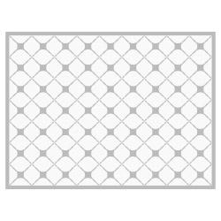 contento Tischset Vinyl Pattern Grau 1