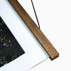 clipwood Posterleisten 41 cm Walnuss