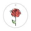 fotomobilee 3 Fotos rund + Rose