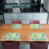 Tischset Vinyl Pattern Grün 1