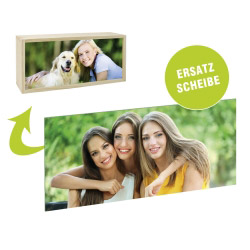 Fotogeschenke Acrylglasscheibe für Lightbox 35 x 15 cm quer