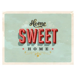 contento Tischset HOME SWEET HOME