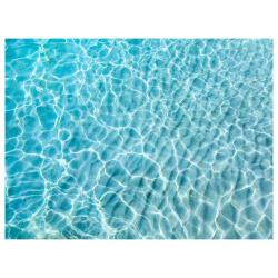 contento Tischset Vinyl Water Turquoise