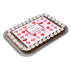 contento Cake Top Tortenbild 20x27,7 cm ALLES GUTE