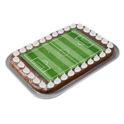 contento Cake Top Tortenbild 20x27,7 cm FUSSBALL