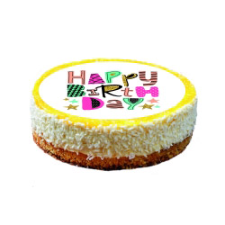 contento Cake Top Tortenbild Ø 20 cm HAPPY BIRTHDAY