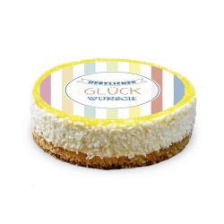 contento Cake Top Tortenbild Ø 20 cm GLÜCKWUNSCH