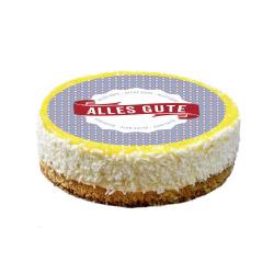 contento Cake Top Tortenbild Ø 20 cm ALLES GUTE