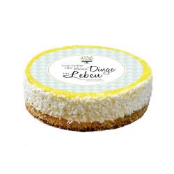 contento Cake Top Tortenbild Ø 20 cm GENIESSE DIE KLEINEN DINGE