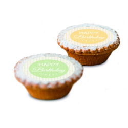 contento Cake Top Muffins 15 St. Ø 5 cm HAPPY BIRTHDAY BUNT