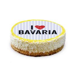 contento Cake Top Tortenbild Ø 20 cm BAVARIA