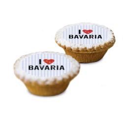 contento Cake Top Muffins 15 St. Ø 5 cm BAVARIA