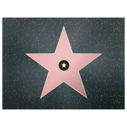 contento Tischset Vinyl Walk of Fame