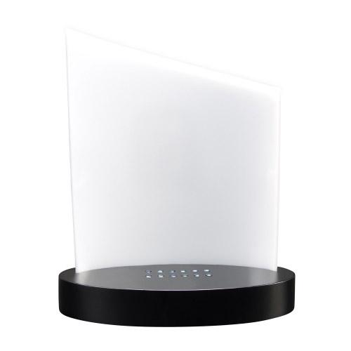 set clarisso design sockel weiss schwarz mit farbigtem glasfoto 140 x 105 x 19 hoch contento. Black Bedroom Furniture Sets. Home Design Ideas