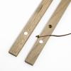clipwood Set quadratisch 40 x 40 Walnuss