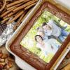 Tortenbild 20 x 27,7 cm quer mit eigenem Foto