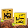 Lightbox PARTY ZONE 25x25 cm