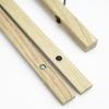 clipwood Set quadratisch 70 x 70 Eiche