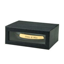 Fotogeschenke Schmuck Geschenkbox schwarz