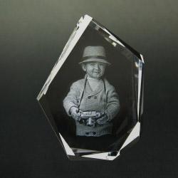 Fotogeschenke 3D Glasfoto DIAMOND M 1-2 Personen
