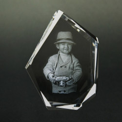 Fotogeschenke 3D Glasfoto DIAMOND L 1-4 Personen